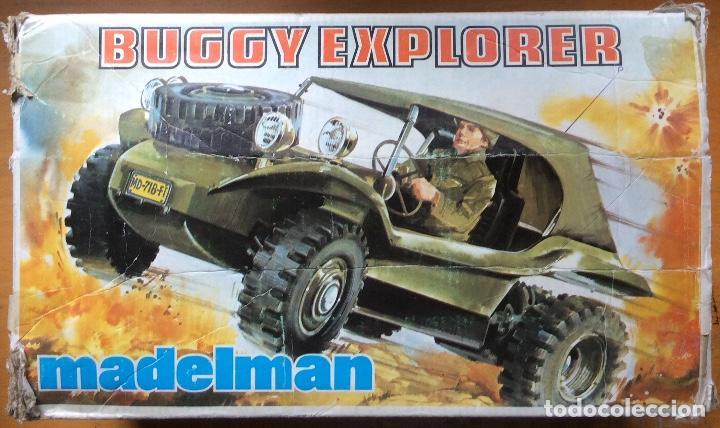 MADELMAN BUGGY EXPLORER MADEL EXIN PARA RESTAURAR (Juguetes - Figuras de Acción - Madelman)