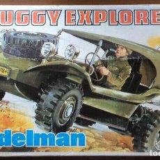 Madelman: MADELMAN BUGGY EXPLORER MADEL EXIN PARA RESTAURAR. Lote 86400064