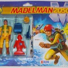 Madelman: BLISTER FIGURA ZAN MADELMAN 2050 DE EXIN PRIMERA GENERACION. Lote 86624124