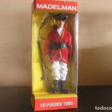 Madelman: MADELMAN GUERRA INDEPENDENCIA EEUU SOLDADO CASACA ROJA EN CAJA CUSTOM. Lote 98428098