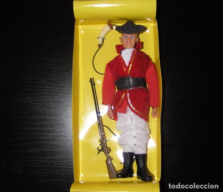 Madelman: Madelman guerra independencia EEUU soldado casaca roja en caja custom - Foto 2 - 98428098