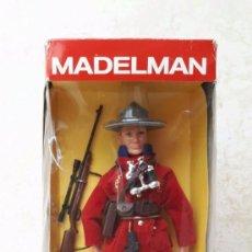 Madelman: MADELMAN POLICIA MONTADA POPULAR DE JUGUETES. Lote 90879590