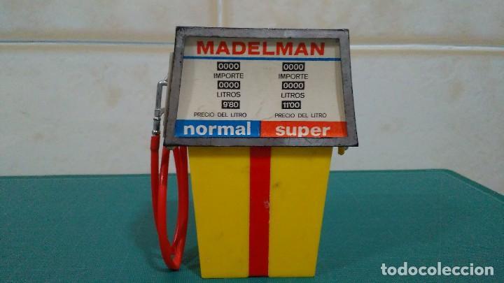 Madelman: SURTIDOR Y GATO ELEVADOR DEL MECÁNICO DE ESTACIÓN DE SERVICIO DE MADELMAN 1ª GENERACIÓN - Foto 4 - 92468180