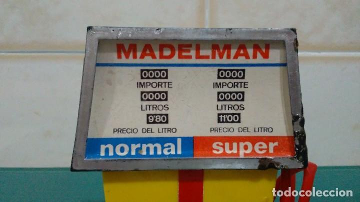 Madelman: SURTIDOR Y GATO ELEVADOR DEL MECÁNICO DE ESTACIÓN DE SERVICIO DE MADELMAN 1ª GENERACIÓN - Foto 9 - 92468180