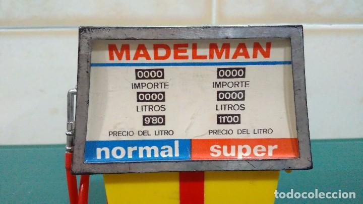 Madelman: SURTIDOR Y GATO ELEVADOR DEL MECÁNICO DE ESTACIÓN DE SERVICIO DE MADELMAN 1ª GENERACIÓN - Foto 10 - 92468180