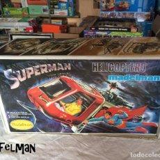 Madelman: HELICOPTERO MADELMAN - SUPERMAN THE MOVIE - NUEVO A ESTRENAR EN CAJA - IMPECABLE + PEGATINAS REGALO. Lote 94779467