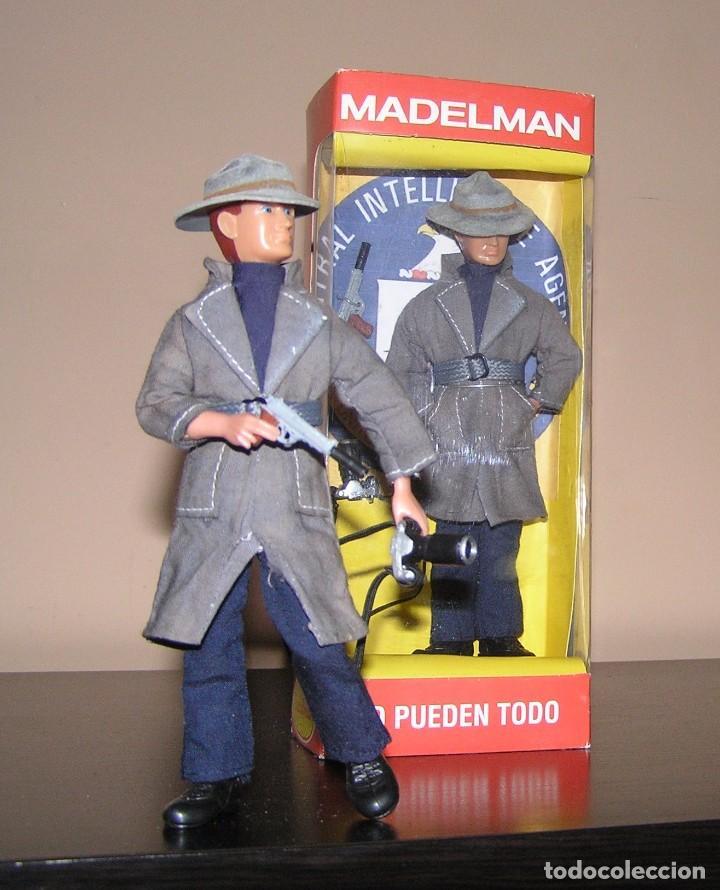 Madelman: Madelman serie espias y agentes secretos.Agente CIA: Central Intelligence Agency.Guerra fría.Policia - Foto 5 - 95267507