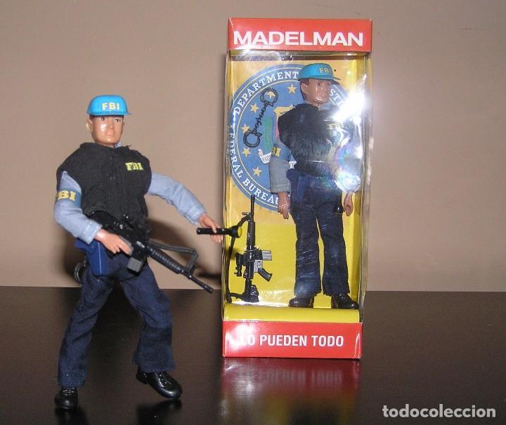 MADELMAN MDE SERIE ESPIAS Y AGENTES SECRETOS. AGENTE FBI. FEDERAL BUREAU OF INVESTIGATION. POLICIA (Juguetes - Figuras de Acción - Madelman)