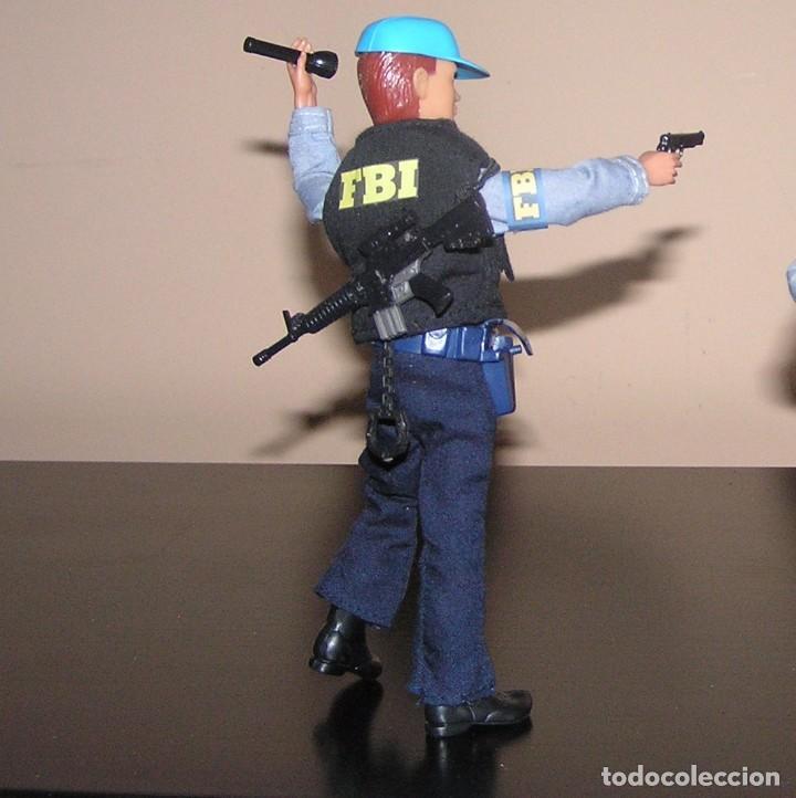 Madelman: Madelman MDE serie espias y agentes secretos. Agente FBI. Federal Bureau of Investigation. Policia - Foto 2 - 95268443