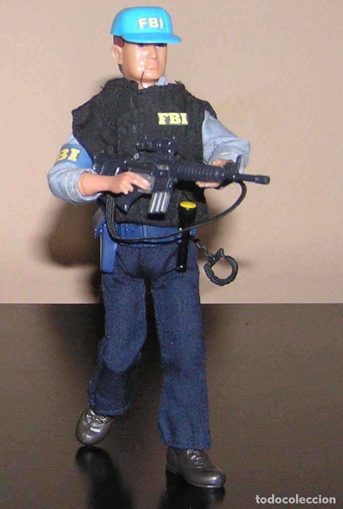 Madelman: Madelman MDE serie espias y agentes secretos. Agente FBI. Federal Bureau of Investigation. Policia - Foto 3 - 95268443