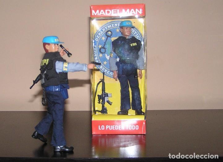 Madelman: Madelman MDE serie espias y agentes secretos. Agente FBI. Federal Bureau of Investigation. Policia - Foto 4 - 95268443