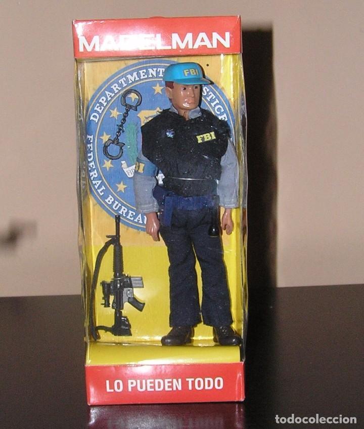 Madelman: Madelman MDE serie espias y agentes secretos. Agente FBI. Federal Bureau of Investigation. Policia - Foto 5 - 95268443
