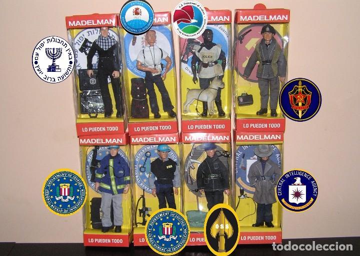 Madelman: Madelman MDE serie espias y agentes secretos. Agente FBI. Federal Bureau of Investigation. Policia - Foto 6 - 95268443