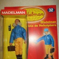 Madelman: MADELMAN PILOTO DE HELICOPTERO CON SU FASCICULO Y CAJA NUEVO. Lote 97701687