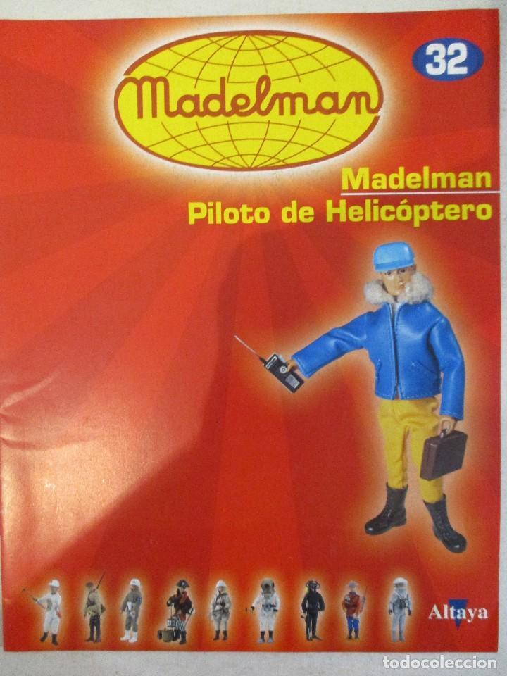 Madelman: MADELMAN PILOTO DE HELICOPTERO CON SU FASCICULO Y CAJA NUEVO - Foto 3 - 97701687