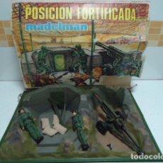 Madelman: POSICION FORTIFICADA REF.551-MADELMAN AÑOS 70 CON SU CAJA Y TODO ORIGINAL-MUY RARO -UNA PASADA. Lote 102642511