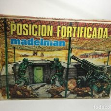 Madelman: MADELMAN POSICIÓN FORTIFICADA ORIGINAL AÑOS 80. Lote 104029179