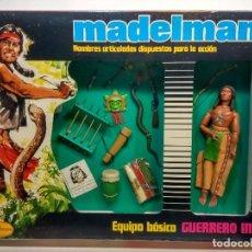 Madelman - MADELMAN GUERRERO INDIO BASICO A ESTRENAR DE JUGUETERIA - 104674979