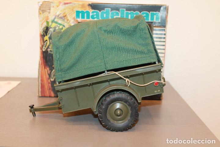 MADELMAN, REMOLQUE CAMPAÑA. REF. 713. EN CAJA ORIGINAL. MADEL. MADE IN SPAIN. AÑOS 70 (Juguetes - Figuras de Acción - Madelman)