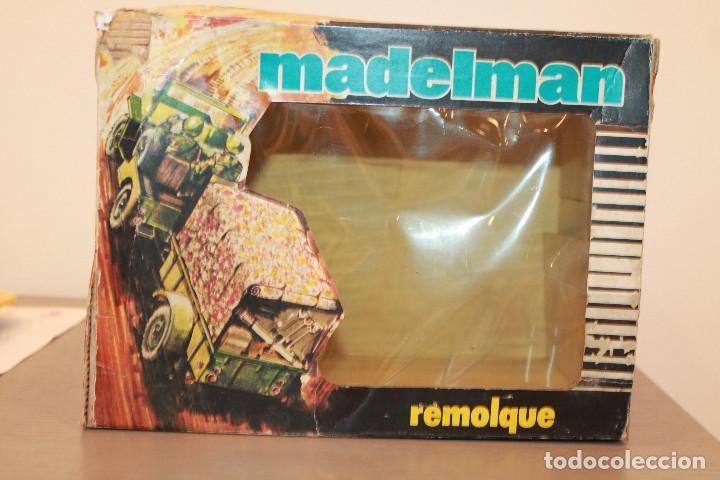 Madelman: MADELMAN, REMOLQUE CAMPAÑA. REF. 713. EN CAJA ORIGINAL. MADEL. MADE IN SPAIN. AÑOS 70 - Foto 5 - 105101147