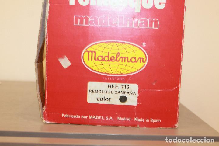 Madelman: MADELMAN, REMOLQUE CAMPAÑA. REF. 713. EN CAJA ORIGINAL. MADEL. MADE IN SPAIN. AÑOS 70 - Foto 6 - 105101147
