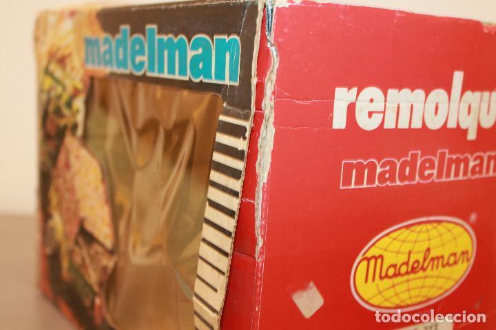 Madelman: MADELMAN, REMOLQUE CAMPAÑA. REF. 713. EN CAJA ORIGINAL. MADEL. MADE IN SPAIN. AÑOS 70 - Foto 11 - 105101147