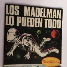 Madelman: ¡¡LOS ORIGINALES!! MADELMAN ORIGINAL MADEL S.A AÑOS 70/80. CATALOGO LOS MADELMAN LO PUEDEN TODO. Lote 107247479