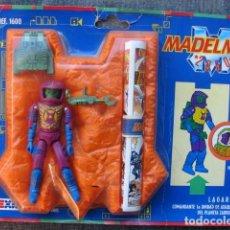 Madelman: LAGARD DE MADELMAN 2050 CON BASE NARANJA AÑOS 80 - EXÍN . Lote 109291595