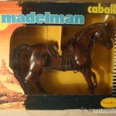 Madelman: ¡¡LOS ORIGINALES!! MADELMAN CABALLO OESTE ALAZAN EN CAJA REF.712 (1977-1982) COMPLETO E IMPECABLE C. Lote 109376111