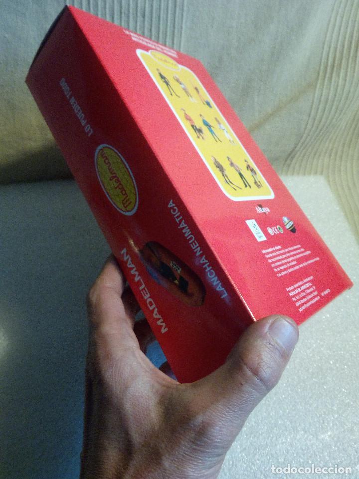 Madelman: Lancha canoa balsa altaya nueva sin jugar en caja - Foto 3 - 110553715