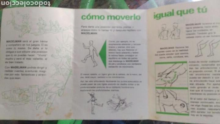 Madelman: Madelman.instrucciones original.como se ve. - Foto 2 - 110739120