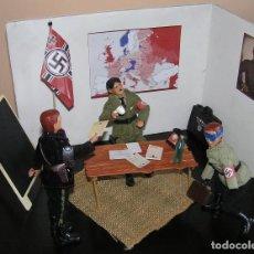 Madelman - Madelman MDE. diorama. Escaparate.Operación Valkiria. Atentado a Hitler.II Guerra Mundial. Histórico - 111080999
