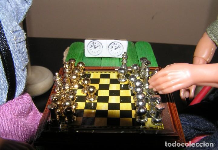 Madelman: Madelman diorama. Partida de ajedrez Spasski-Fischer. Guerra Fria. - Foto 7 - 136109778