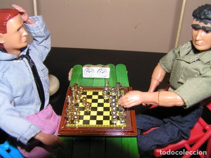 Madelman: Madelman diorama. Partida de ajedrez Spasski-Fischer. Guerra Fria. - Foto 8 - 136109778