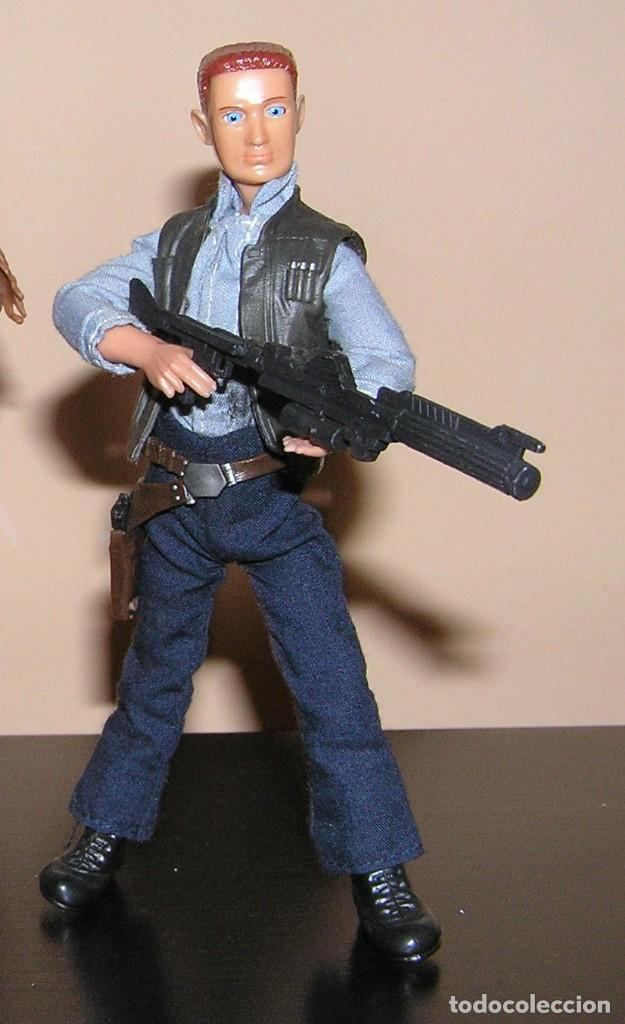 Madelman: Madelman MDE serie cine Star War. Han Solo con arma laser espacial. Cosmic. - Foto 2 - 111810887