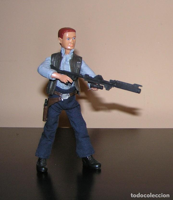 Madelman: Madelman MDE serie cine Star War. Han Solo con arma laser espacial. Cosmic. - Foto 3 - 111810887