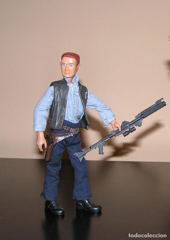 Madelman: Madelman MDE serie cine Star War. Han Solo con arma laser espacial. Cosmic. - Foto 4 - 111810887