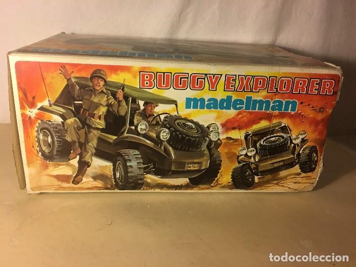 Madelman: ¡¡LOS ORIGINALES!! MADELMAN MADEL 80 SEGUNDA GENERACION Caja Original vacia Buggy Explorer ref.719 - Foto 3 - 112029971