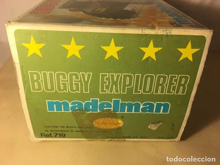 Madelman: ¡¡LOS ORIGINALES!! MADELMAN MADEL 80 SEGUNDA GENERACION Caja Original vacia Buggy Explorer ref.719 - Foto 4 - 112029971