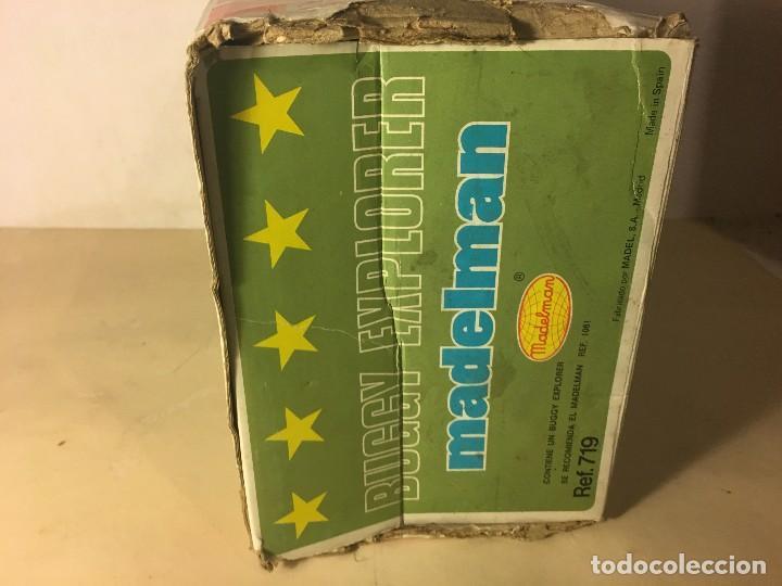 Madelman: ¡¡LOS ORIGINALES!! MADELMAN MADEL 80 SEGUNDA GENERACION Caja Original vacia Buggy Explorer ref.719 - Foto 6 - 112029971
