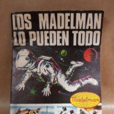 Madelman: CATÁLOGO ORIGINAL LOS MADELMAN LO PUEDEN TODO. Lote 113991463