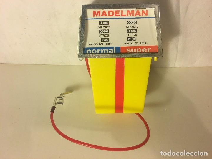 ¡¡LOS ORIGINALES!! MADELMAN 100X100 ORIGINAL MADEL S.A 70/80. GASOLINERO DIFICIL SURTIDOR GASOLINA, (Juguetes - Figuras de Acción - Madelman)
