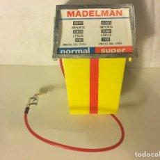 Madelman: ¡¡LOS ORIGINALES!! MADELMAN 100X100 ORIGINAL MADEL S.A 70/80. GASOLINERO DIFICIL SURTIDOR GASOLINA,. Lote 114766379