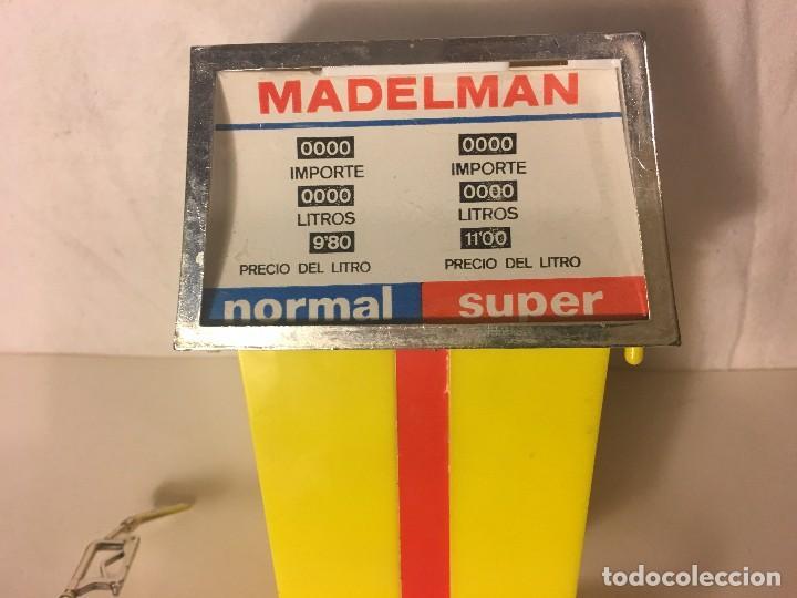 Madelman: ¡¡LOS ORIGINALES!! MADELMAN 100X100 ORIGINAL MADEL S.A 70/80. GASOLINERO DIFICIL SURTIDOR GASOLINA, - Foto 4 - 114766379