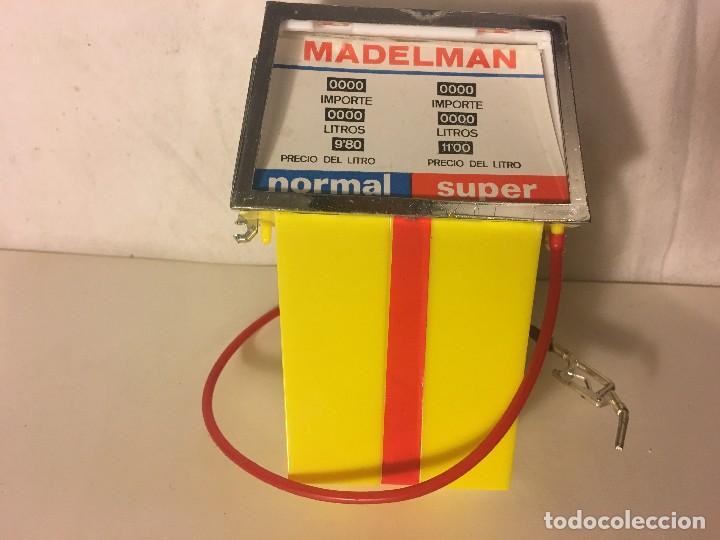 Madelman: ¡¡LOS ORIGINALES!! MADELMAN 100X100 ORIGINAL MADEL S.A 70/80. GASOLINERO DIFICIL SURTIDOR GASOLINA, - Foto 6 - 114766379