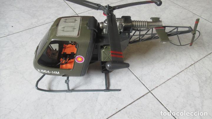 Madelman: Helicoptero Madelman. Madel . con su caja TZ - Foto 2 - 117022787
