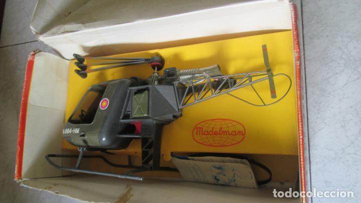 Madelman: Helicoptero Madelman. Madel . con su caja TZ - Foto 3 - 117022787