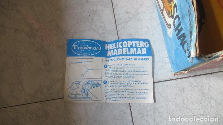 Madelman: Helicoptero Madelman. Madel . con su caja TZ - Foto 9 - 117022787