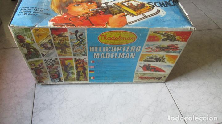 Madelman: Helicoptero Madelman. Madel . con su caja TZ - Foto 10 - 117022787