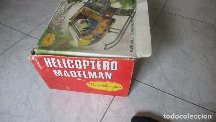 Madelman: Helicoptero Madelman. Madel . con su caja TZ - Foto 13 - 117022787